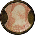 Encased Postage: , HB-30 EP-34a Scott-15a Reed-AS03MD 3¢ Ayer's Sarsaparilla MediumAyer's Very Fine....