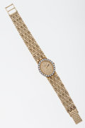Timepieces:Wristwatch, Lady's Geneva Collection 14k Gold Wristwatch. ...
