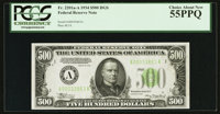 Fr. 2201-A $500 1934 Federal Reserve Note. PCGS Choice About New 55PPQ