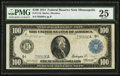 Fr. 1116 $100 1914 Federal Reserve Note PMG Very Fine 25