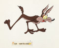 Animation Art:Production Cel, Hip Hip Hurry Wile E. Coyote Production Cel Group (WarnerBrothers, 1958).... (Total: 3 Items)