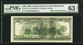 Fr. 2175-E $100 1996 Federal Reserve Note. PMG Choice Uncirculated 63 Net