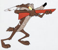 Animation Art:Production Cel, Rabbit's Feet Wile E. Coyote Production Cel Group (Warner Brothers, 1960).... (Total: 4 Items)