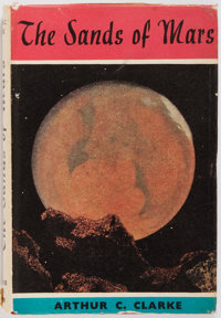 Arthur C. Clarke. The Sands of Mars. London: Sidgwick and Jackson, [1952]. Second printing. 8vo