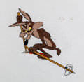 Animation Art:Production Cel, Lickety Splat Wile E. Coyote Production Cel (WarnerBrothers, 1961)....