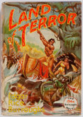 Books:Science Fiction & Fantasy, Edgar Rice Burroughs. Land of Terror. Edgar Rice Burroughs, 1944. First edition, first printing. Publisher's binding...
