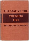 Books:Mystery & Detective Fiction, Erle Stanley Gardner. INSCRIBED. The Case of the TurningTide. New York: Morrow, 1941. Inscribed by Gardner on ffe...