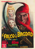 "Movie Posters:Adventure, The Magic Carpet (Columbia, 1952). Italian 4 - Foglio (55"" X 78"")....."
