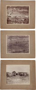 American Indian Art:Photographs, THREE FORT APACHE GELATIN PRINTS, PHOTOGRAPHER UNKNOWN... (Total: 3)