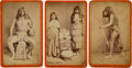 "American Indian Art:Photographs, ""YUMA INDIANS"" THREE BOUDOIR PHOTOS BY E.A. BONINE... (Total: 3Items)"