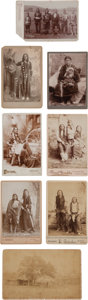 American Indian Art:Photographs, EIGHT INDIAN TERRITORY VIEWS, VARIOUS PHOTOGRAPHERS... (Total: 8Items)