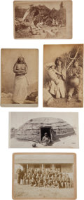 American Indian Art:Photographs, FIVE ARIZONA INDIAN VIEWS, VARIOUS PHOTOGRAPHERS... (Total: 5Items)