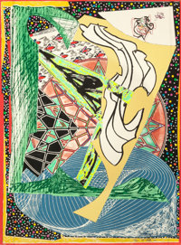 FRANK STELLA (American, b. 1936) Jonah Historically Regarded (from Moby Dick Engravings), 1992 Relie