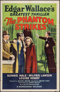 "Movie Posters:Mystery, The Phantom Strikes (Monogram, 1939). One Sheet (27"" X 41"").Mystery.. ..."