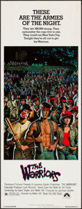 "Movie Posters:Action, The Warriors (Paramount, 1979). Insert (14"" X 36""). Action.. ..."
