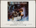 """Movie Posters:Science Fiction, The Empire Strikes Back (20th Century Fox, 1980). Half Sheet (22"""" X28"""") Style A. Science Fiction.. ..."""