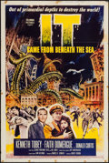 """Movie Posters:Science Fiction, It Came from Beneath the Sea (Columbia, 1955). One Sheet (27"""" X41""""). Science Fiction.. ..."""