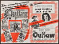 """Movie Posters:Western, The Outlaw (20th Century Fox, 1941). Uncut Pressbook (Multiple Pages, 13.75"""" X 20.5""""). Western.. ..."""
