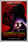 "Movie Posters:Science Fiction, Revenge of the Jedi (20th Century Fox, 1982). One Sheet (27"" X 41"")Dated Advance Style. Science Fiction.. ..."