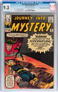 Silver Age (1956-1969):Superhero, Journey Into Mystery #91 Don/Maggie Thompson Collection pedigree(Marvel, 1963) CGC NM- 9.2 Off-white to white pages....