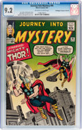 Silver Age (1956-1969):Superhero, Journey Into Mystery #95 Don/Maggie Thompson Collection pedigree(Marvel, 1963) CGC NM- 9.2 Off-white to white pages....
