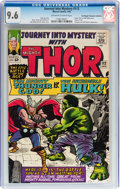 Silver Age (1956-1969):Superhero, Journey Into Mystery #112 Don/Maggie Thompson Collection pedigree(Marvel, 1965) CGC NM+ 9.6 Off-white to white pages....