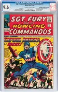 Silver Age (1956-1969):Superhero, Sgt. Fury and His Howling Commandos #13 Don/Maggie ThompsonCollection pedigree (Marvel, 1964) CGC NM+ 9.6 Off-white to white...
