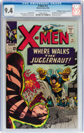 Silver Age (1956-1969):Superhero, X-Men #13 Don/Maggie Thompson Collection pedigree (Marvel, 1965) CGC NM 9.4 Off-white to white pages....
