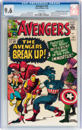 Silver Age (1956-1969):Superhero, The Avengers #10 Don/Maggie Thompson Collection pedigree (Marvel,1964) CGC NM+ 9.6 White pages....