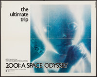 """2001: A Space Odyssey (MGM, 1968). Half Sheet (22"""" X 28""""). Science Fiction"""