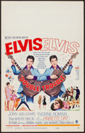 "Movie Posters:Elvis Presley, Double Trouble (MGM, 1967). Window Card (14"" X 22""). ElvisPresley.. ..."