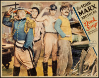 "Duck Soup (Paramount, 1933). Lobby Card (11"" X 14""). Comedy"