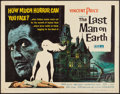 "Movie Posters:Science Fiction, The Last Man on Earth (American International, 1964). Half Sheet(22"" X 28""). Science Fiction.. ..."