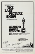 """Movie Posters:Drama, The Last Picture Show (Columbia, 1971). Autographed One Sheet (27"""" X 41"""") Academy Awards Style. Drama.. ..."""