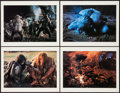 "Movie Posters:Adventure, Quest for Fire Photo Portfolio by Ernst Haas (20th Century Fox, 1982). Portfolio With Photos (8) (11.25"" X 14.5"") #31/50... (Total: 9 Items)"