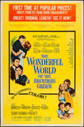 """Movie Posters:Fantasy, The Wonderful World of the Brothers Grimm (MGM, 1962). Poster (40"""" X 60""""). Fantasy.. ..."""