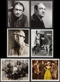 "Movie Posters:War, Victor McLaglen in What Price Glory & Others Lot (Fox, 1926).Photos (10) (7.5"" X 9.5"" & 8"" X 10""), Color-Glos Photo (8"" X1... (Total: 12 Items)"