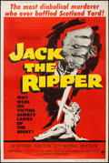 """Movie Posters:Mystery, Jack the Ripper (Paramount, 1960). Poster (40"""" X 60"""") Style Y.Mystery.. ..."""