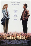 "Movie Posters:Comedy, When Harry Met Sally (Columbia, 1989). One Sheet (27"" X 40""). Comedy.. ..."