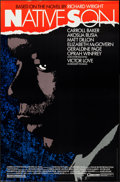 "Movie Posters:Drama, Native Son (Cinecom, 1986). One Sheet (27"" X 41""). Drama.. ..."