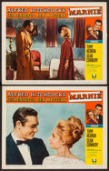 """Movie Posters:Hitchcock, Marnie (Universal, 1964). Autographed Lobby Card & Lobby Card (11"""" X 14""""). Hitchcock.. ... (Total: 2 Items)"""