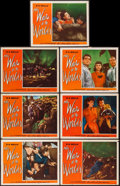 "Movie Posters:Science Fiction, The War of the Worlds (Paramount, 1953). Lobby Cards (7) (11"" X14""). Science Fiction.. ... (Total: 7 Items)"
