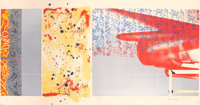 JAMES ROSENQUIST (American, b. 1933) F-111 (South, West, North, East) (four works), 1974 Set of four