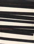 Post-War & Contemporary:Contemporary, BERNAR VENET (French, b. 1941). Straight Lines/Obliques,1998. Oilstick on paper. 51-1/2 x 40-1/4 inches (130.8 x 102.2 ...
