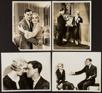 """Up Pops the Devil by Gene Robert Richee (Paramount, 1931). Photos (4) (8"""" X 10""""). Romance. ... (Total: 4 Items..."""