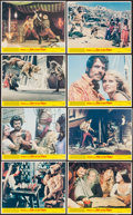 """Movie Posters:Fantasy, Sinbad and the Eye of the Tiger (Columbia, 1977). Mini Lobby Card Set of 8 (8"""" X 10""""). Fantasy.. ... (Total: 8 Items)"""