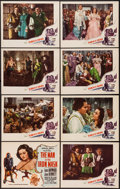 """Movie Posters:Adventure, The Man in the Iron Mask (PRC, R-1947). Lobby Card Set of 8 (11"""" X14""""). Adventure.. ... (Total: 8 Items)"""