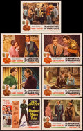 """Movie Posters:Adventure, The Adventures of Marco Polo (Film Classics, R-1944). Title LobbyCard & Lobby Cards (6) (11"""" X 14""""). Adventure.. ... (Total: 7Items)"""