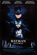 "Movie Posters:Action, Batman Returns (Warner Brothers, 1992). Autographed One Sheet (27""X 40.5"") DS Advance. Action.. ..."