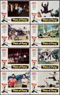 """Movie Posters:Action, Fists of Fury (National General, 1973). Lobby Card Set of 8 (11"""" X14""""). Action.. ... (Total: 8 Items)"""